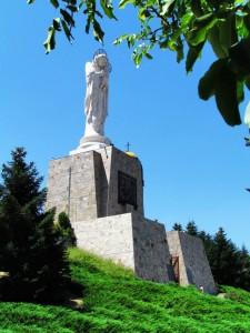 Монумент Пресвета Богородица - Хасково